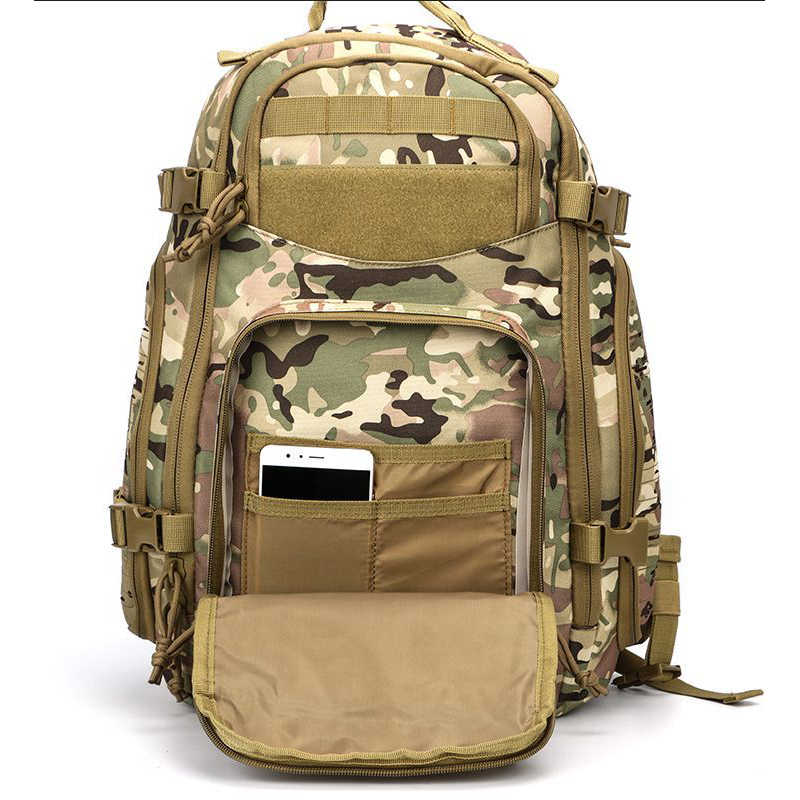 1aba363f48bd5 ... Outdoor Tactical Backpack MOLLE 1-2 Day Army Military Survival Bug Out Bag  Rucksack Assault ...