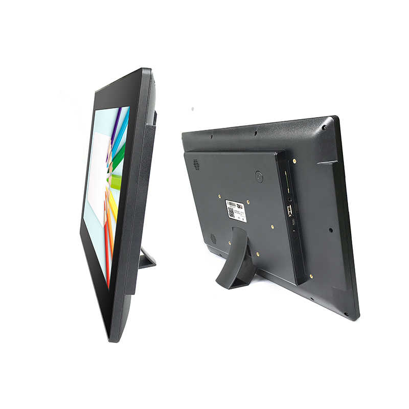 "13.3 "" RJ45 NFC Capacitive Touch Screen Wall Mounted All In One Pc For Face Recognition"