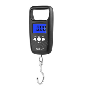 Image 3 - 50kg/110lb Digital Electronic Luggage Scale Portable Suitcase Scale Handled Travel Bag Weighting Fish Hook Hanging Scale