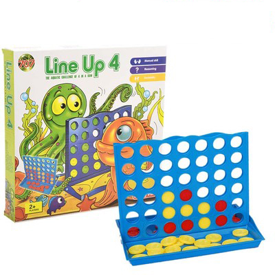 Newest Units 1 set connect 4 in a line board game educational toys for children sports entertainment nin