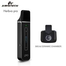 Оригинал Airistech herbva Pro испаритель комплект airisvape Ручка Mini Kit 2200 мАч литий-полимерный встроенный herbva Pro устройства