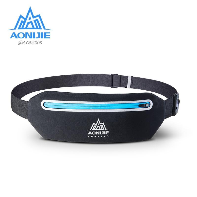 AONIJIE Running Hip Pouch Mobile Phone Holder Waist Bag Belt Fitness Packs  For Running Hiking