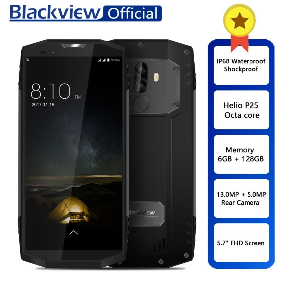 "Blackview BV9000 Pro กันน้ำกันกระแทก Dual SIM สมาร์ทโฟน Helio P25 Octa Core 6 GB + 128 GB 5.7 ""18:9 face ID โทรศัพท์มือถือ-ใน โทรศัพท์มือถือ จาก โทรศัพท์มือถือและการสื่อสารระยะไกล บน AliExpress - 11.11_สิบเอ็ด สิบเอ็ดวันคนโสด 1"