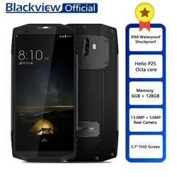 """Blackview BV9000 Pro Водонепроницаемый противоударный смартфон Helio P25 Восьмиядерный 6 ГБ + 128 ГБ 5,7 """"18:9 Face ID две камеры мобильного телефона"""