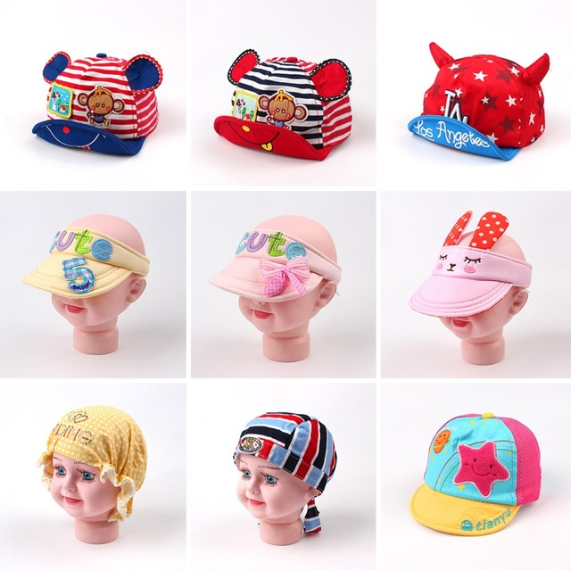 Dibujos Animados niños niñas Caps lindo gorra de béisbol del sombrero del  sol del verano para 50e242788a1