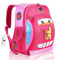 Hot Sale Children School Bags Cartoon Car Backpack Baby Toddler kids Book Bag Kindergarten Rucksacks BP036