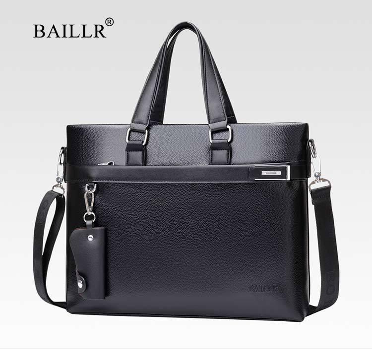 HTB1uI8IXznuK1RkSmFPq6AuzFXaW Promotions 2019 New Fashion Bag Men Briefcase PU Leather Men Bags Business Brand Male Briefcases Handbags Wholesale High Quality