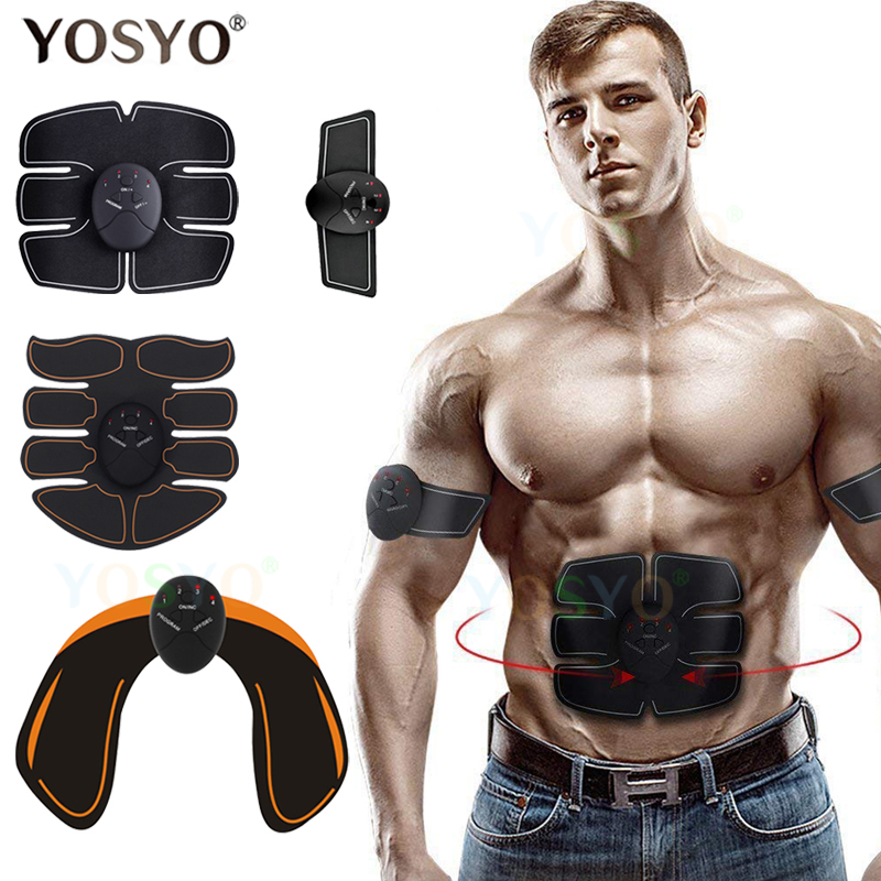 EMS Muscle Stimulator Trainer Wireless Smart Fitness Abdominal Training Electric Weight Loss Stickers WITHOUT Retail Box