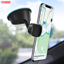 Universal 360 Degree Car Windshield Mount Holder Suction Cup Stands Clip for IPhone X XS XR 8 Plus GPS Cell Phone Window Bracket