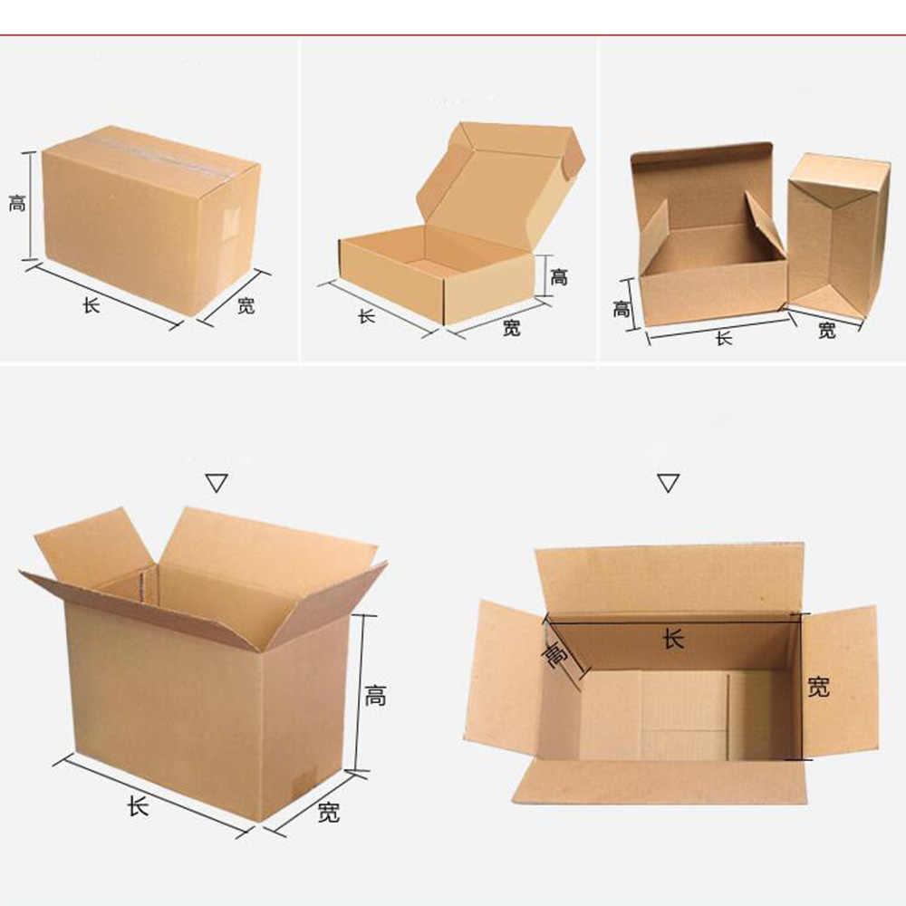 Крафт бумажный самолет картонная упаковка коробки 11*55*6 см умный размер ремесленника подарочные сережки Крафт бумажная коробка для хранения сохранить пространство