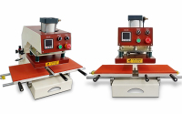 HQS 3023 Clothing Hot Stamping Machine 220V Sliding Heat Press Machine 23x30 Pneumatic Press Heat Transfer Machine