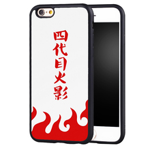 Naruto Fifth Hokage Red Soft TPU Case For iPhone