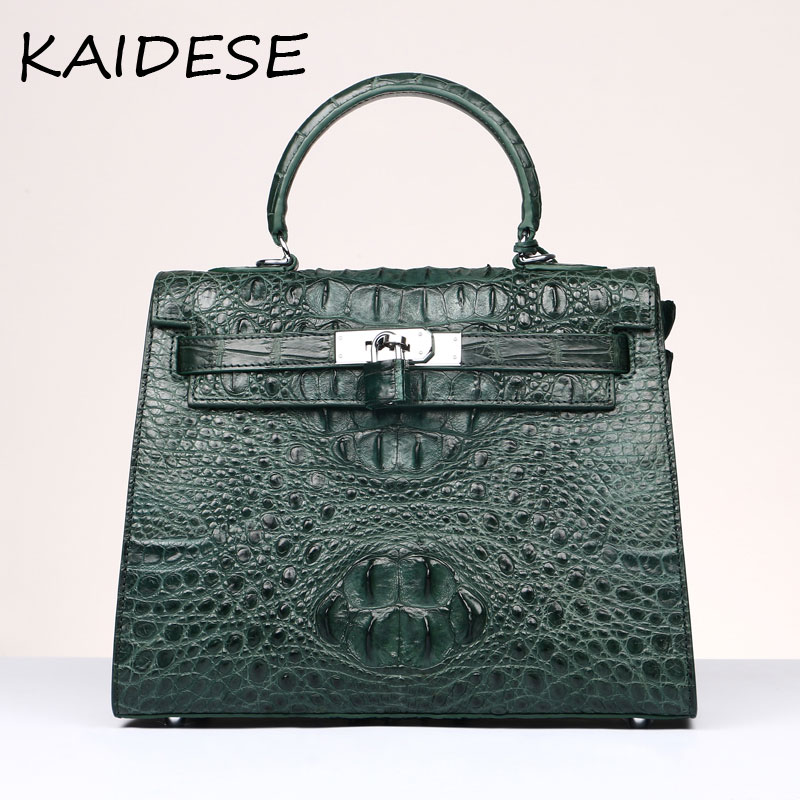 KAIDESE style leather collar bag for 2017 new crocodile handbag with large capacity with a woman bag handbag 2017 new hot bag popular style leather bag of popular fashionable leather bag with large capacity