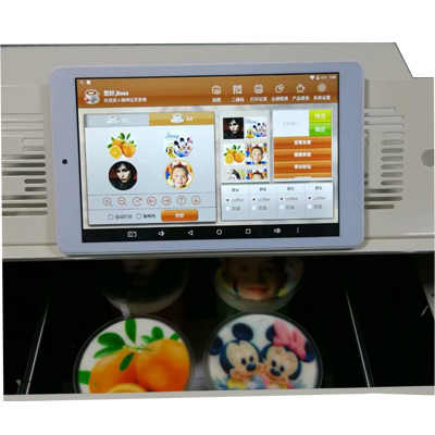 Factory Offer Selfie 3d Cappiccino Latte Art Coffee Printer Small