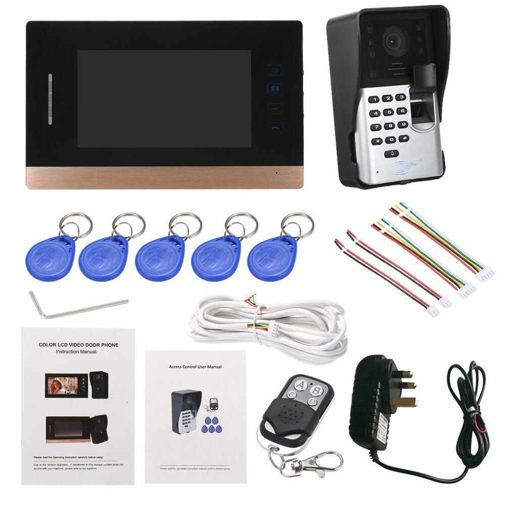 Xinsilu Intercom System Audio Tür Telefon Für 10 Wohnungen Id Karte Entsperren Seien Sie Im Design Neu 4-wired Audio Türsprechanlage Mit Hand-free Indoor Einheiten