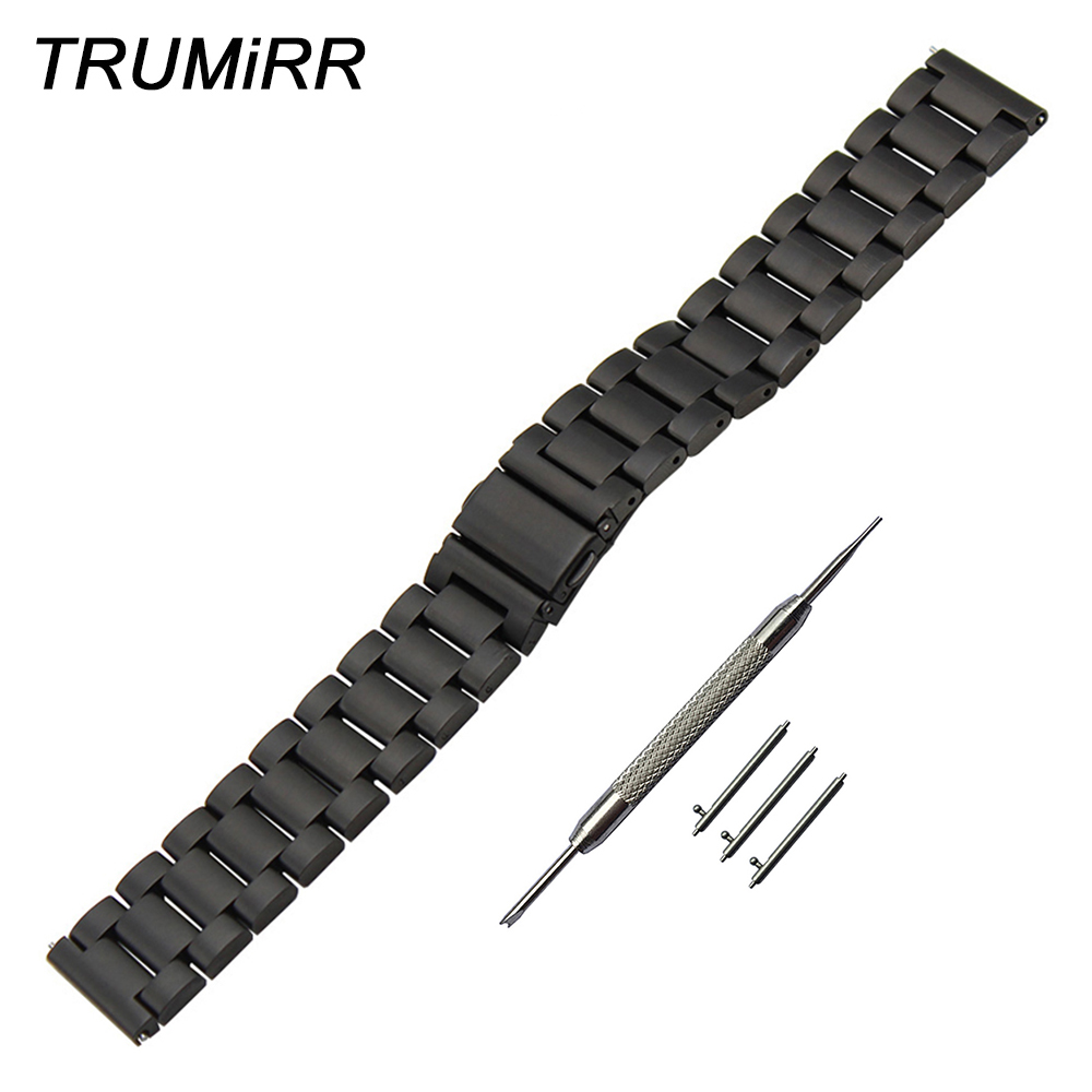 Stainless Steel Watchband Quick Release Strap for Luminox Men Women Watch Band Wrist Bracelet Black Gold Silver 20mm 22mm 23mm цена