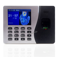 Built In 2000mAH Battery Biometric Time Attendance With Fingerprint Reader Terminal With TCP IP RJ45 Port