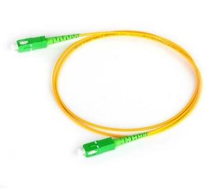 Image 2 - 1m/5pcs SC APC Fiber Patchcord G657A Fiber Patch Cable Simplex 2.0mm PVC SM Bend Insensitive FTTH Optical Cable
