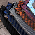 19 Styles Business Men Ties Luxury Casual Ties For Man Plaid Solid Tie Necktie 5cm Formal Wedding Party Slim Striped Tie CJ612