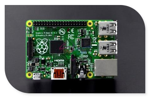 ФОТО Modules Original Raspberry Pi Project Board Model B+, 700MHz Motherboard BCM2835 UK V1.2 version (Make in UK)