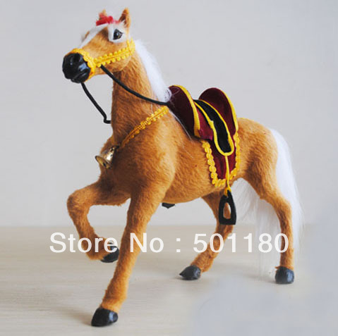 free shipping horse toy of the plastics artificial horse gift decoration horse mini horse artificial crafts animal