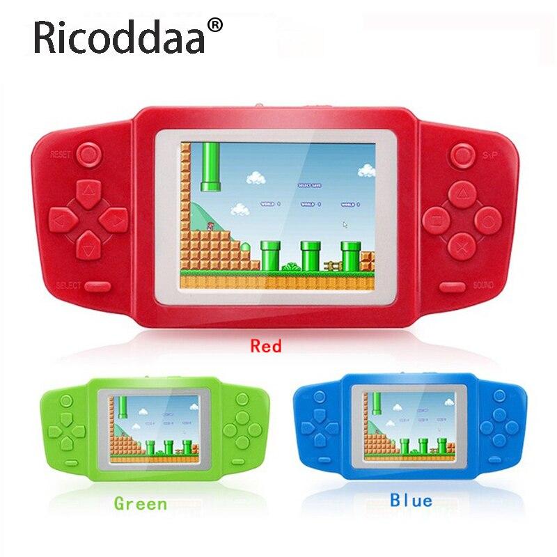 2.5 pouces Mini Console De Jeu vidéo électronique Portable Portable rétro brique Jeu Consola De Jeu construit en 268 jeux classiques