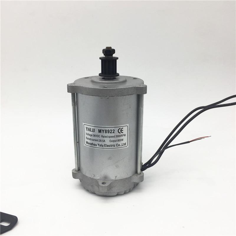 Chladný vyhlídkový vůz pro dospělé Elektrický stejnosměrný motor MY8919 / MY8922 800W48V Venkovní sport, skútr na dálkové ovládání, vysokorychlostní stejnosměrný motor