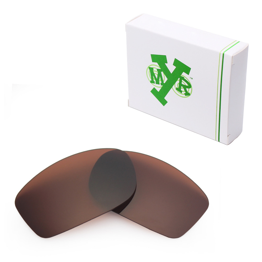 99bb788138 Mryok POLARIZED Replacement Lenses for Oakley Fives Squared Sunglasses Bronze  Brown