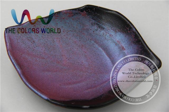 TCWB179 Magia Púrpura Verde Azul, Efecto de cambio de Color Del Pigmento En Polvo o Polvo de uñas de Arte de uñas de gel esmalte de uñas u otros la decoración de DIY