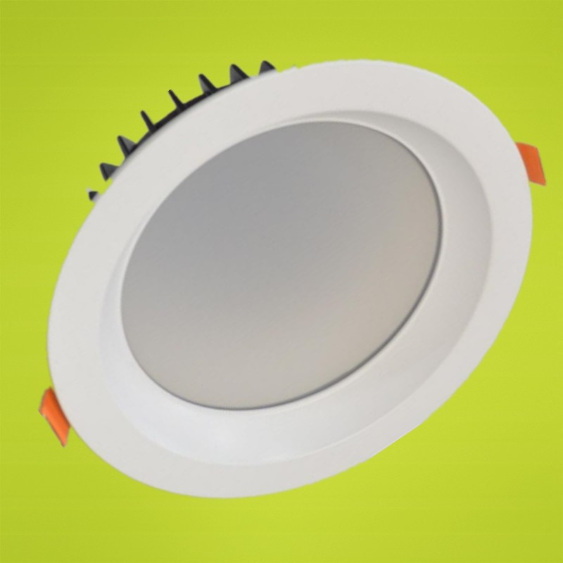 LED Downlights COB Ceiling Recessed Down Light 7W/10W/12W/15W/20W/30W/40W Dimmable Retrofit Kitchen Bathroom White Lights factory newest super bright cob led downlights dimmable15w led down lights recessed lamp warm natrual cold white ac110v ac220v