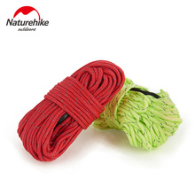 Naturehike 4Pcs/lot1Pcs*4M Ultralight Awning Tent Rope Reflective At Night Windproof Outdoor Camping Accessories Nylon