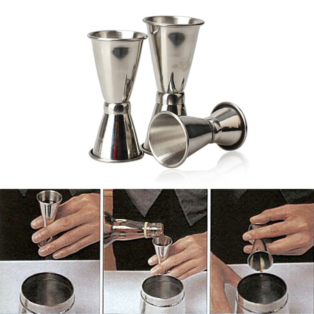 Professional Cocktail Jigger (3Pcs)