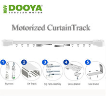 Original Dooya High Quality Automatic Electric Curtain Track for Remote Control Electrical Motor Smart Home System