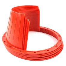 2 шт автомобильная аудиосистема Refit 6,5 дюймов динамик водонепроницаемый чехол аудио Защита от ржавчины коврик динамик водонепроницаемый чехол красный против плесени