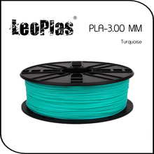Worldwide Fast Delivery Direct Manufacturer 3D Printer Material 1 kg 2.2 lb 3mm Turquoise PLA Filament