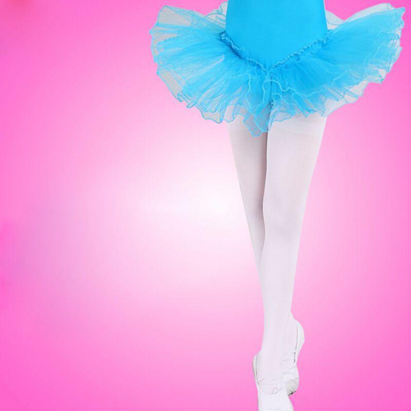 White Kids Girls Dance Sock Panty Hose Ballet Socks Dancing Stocking S/M/L New Arrival