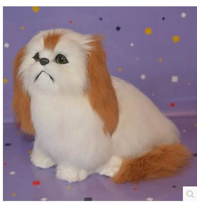 Free shipping super cut 16cm ,12cm height  simulation cat toy miaow cat doll birthday gift simulation cat furry fur white persian cat about 25x20cm sound miaow cat model car ornament layout decoration gift h1307