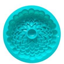 Большой Подсолнух формы для выпечки силиконовые формы для дня рождения форма для пирожных 22,5*4,5 см DIY кухонные приборы для выпечки торт десерт E547