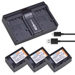 3PC IA-BP105R BP105R IA-BP210R akumulator litowo-jonowy + USB dwukanałowy ładowarka do Samsunga SMX-F500 F501 F530 HMX-F900 F910 F920 H320