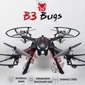 Rc drone 500 m mjx bugs b3 d1806-2280kv motor sin escobillas moniter alarma bidireccional 2.4g quadcopter 6 axis gyro rc helicóptero toys