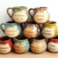 Japanese Retro Ceramic Bone China Termo Coffee Milk Cup Elegant Coffee Mugs Espresso Cups And Coffee