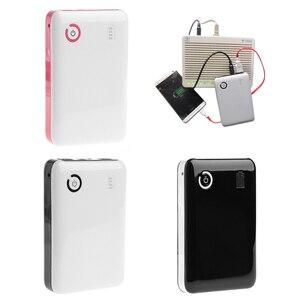 Image 3 - 1 adet ayarlanabilir 5/9/12V 18650 pil şarj aleti mobil güç bankası kutusu tablet telefon siyah/pembe/ beyaz