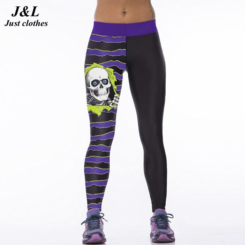 22 Warna Klasik Eropa Amerika Gaya 3D Print Wanita Olahraga Legging - Pakaian Wanita - Foto 5