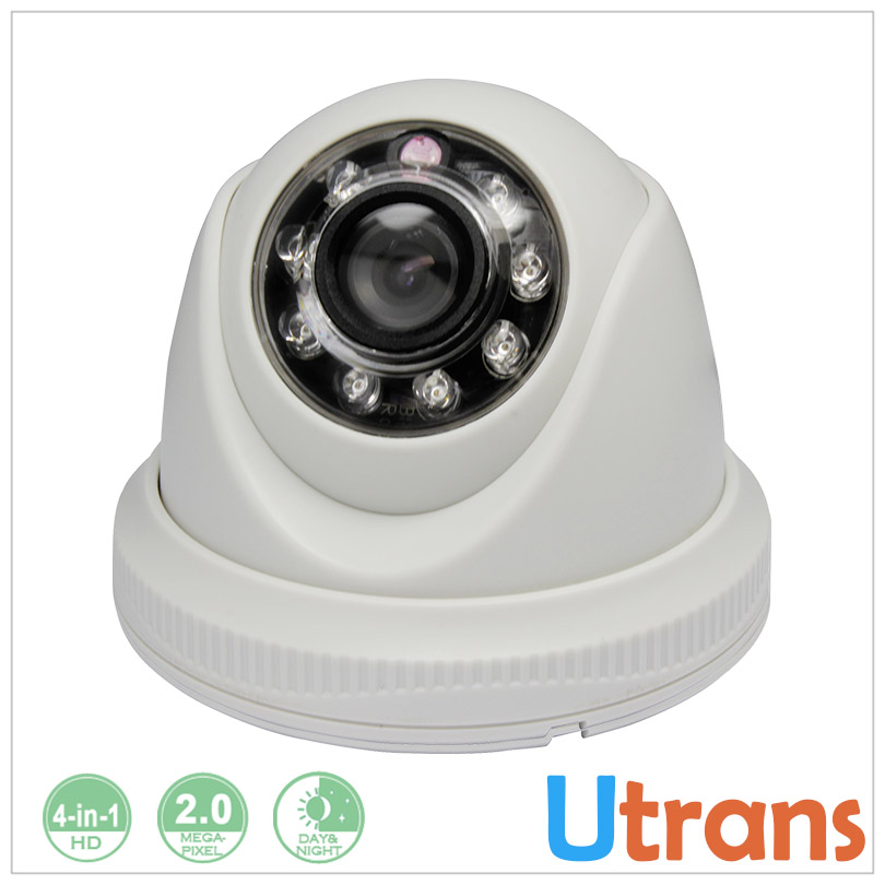 ФОТО HD Camera 1080P Dome SONY CMOS Sensor Plastic Cheap AHD Camera 2.0MP Full HD 8m Night Vision HD CVI HD TVI AHD Camera 2MP