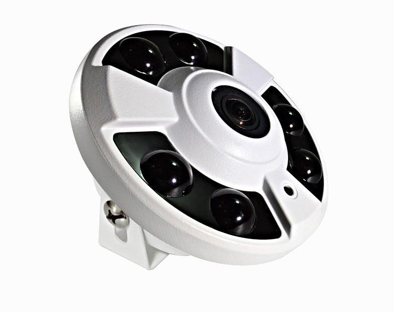 Фотография Hot CMOS AHD 960P 1.3MP 360 Degree 2A Vandal-proof Circular Fisheye Panoramic IP Security CCTV Dome Camera System With IR-CUT