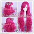 Nice59848 >> larga Magenta My Little Pony Pinkie Pie ondulado Cosplay peluca