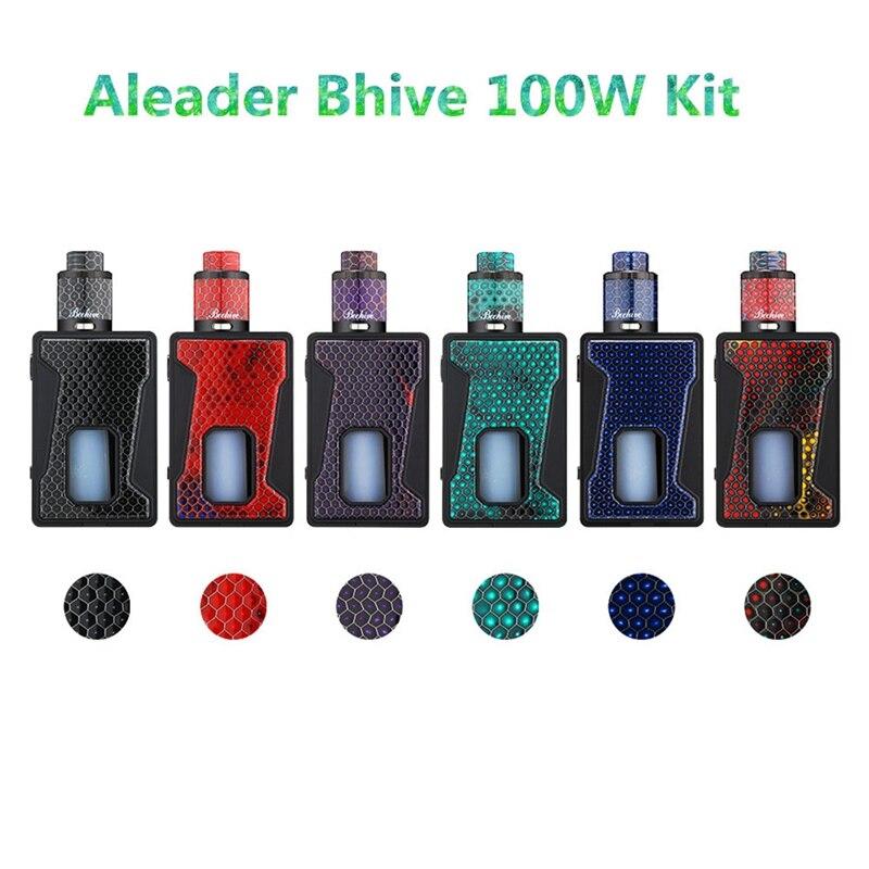 Boîte Squonker 100 W BF Kit Mod TC Squonk e-cigarette avec panneau en résine bouteille 7 ml vs impulsion bf mod