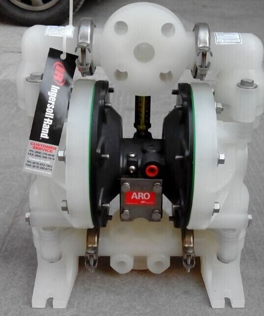 Ingersoll Rand 6661A3-344-C plastic pneumatic diaphragm pump ingersoll in1602cr