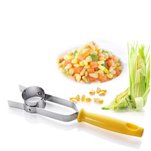 Corn Stripping Device Threshing Corn-stripper Easy Peel Cooking Tools Cereal Peeling Appliance Convenient Strip Kitchen Utensils(China)