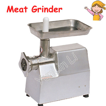 220V Family Use Meat Grinder Stainless Steel Meat Making Machine Mincer with English Manual TJ22A meat grinder high quality stainless steel manual mini meat grinder mincer table hand crank tool for kitchen 8 zf